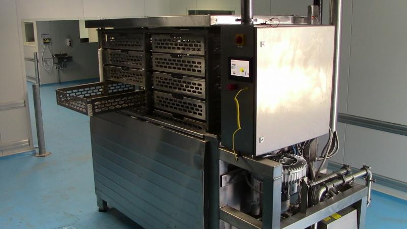 500kg Cook/Chill tank, with interchangeable baskets